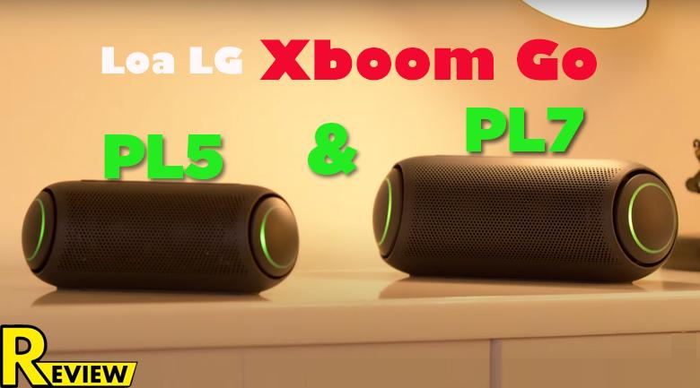 Loa Bluetooth LG Xboom Go PL5