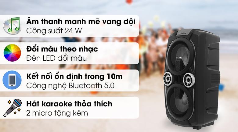 Loa Kéo Bluetooth Mozard L0629K