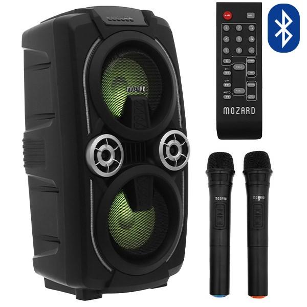 Loa Kéo Bluetooth Mozard L0629K Đen Xám 24 W