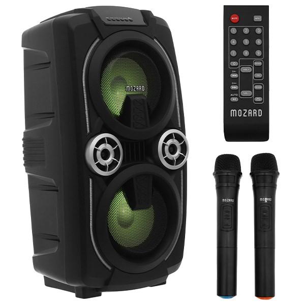 Loa Kéo Bluetooth Mozard L0629K Đen Xám