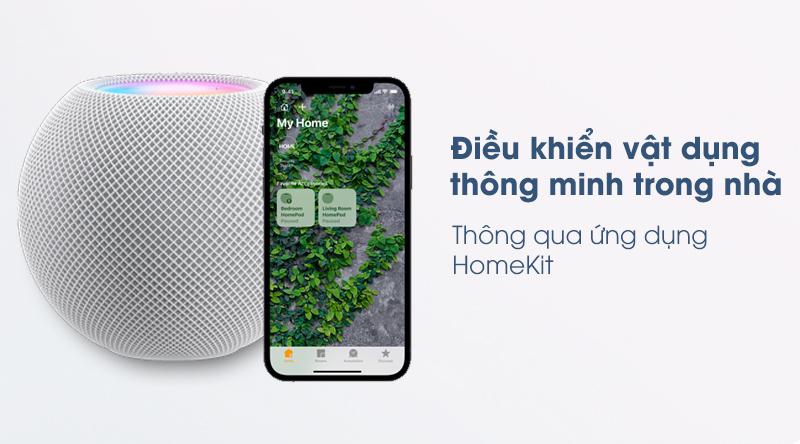oa Bluetooth Apple Homepod Mini - Điều khiển thiết bị thông minh