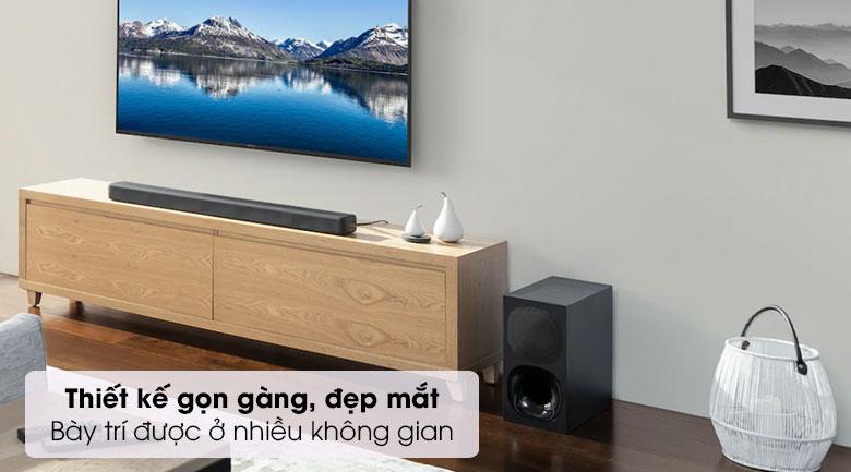 Loa thanh Sony HT- G700 - Thiết kế
