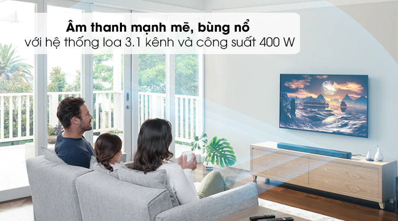 Loa thanh Sony HT- G700 - Công suất