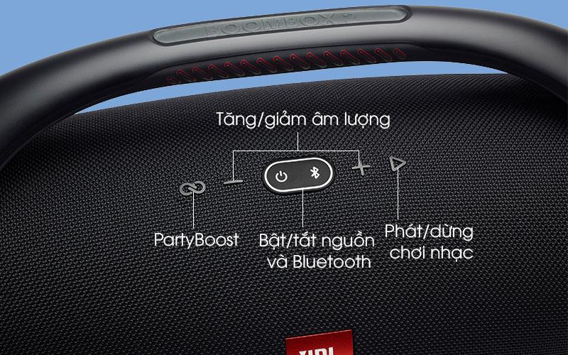 loa Bluetooth JBL Boombox 2 Đen - Nút