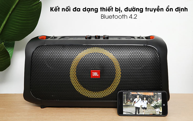 Loa bluetooth JBL Partybox On-The-Go - Bluetooth 4.2