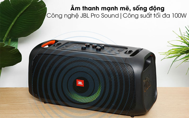 Loa bluetooth JBL Partybox On-The-Go - Công suất