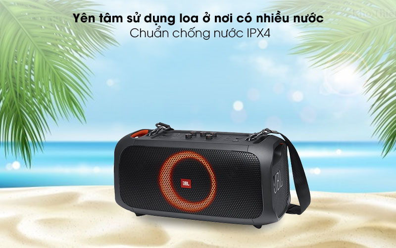 Loa bluetooth JBL Partybox On-The-Go - IPX 4