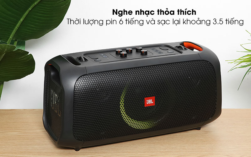 Loa bluetooth JBL Partybox On-The-Go - Pin