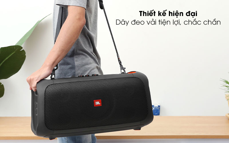 Loa bluetooth JBL Partybox On-The-Go - Thiết kế