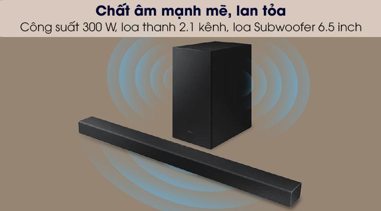 Chất âm mạnh mẽ - Loa thanh Samsung HW-A450