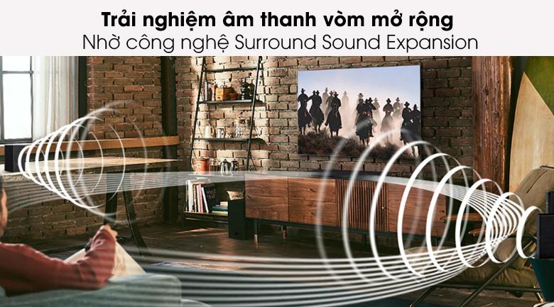 Loa thanh Samsung HW-A450 - Công nghệ âm thanh