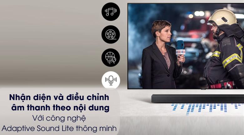 Điều chỉnh âm theo nội dung - Loa thanh Samsung HW-A450