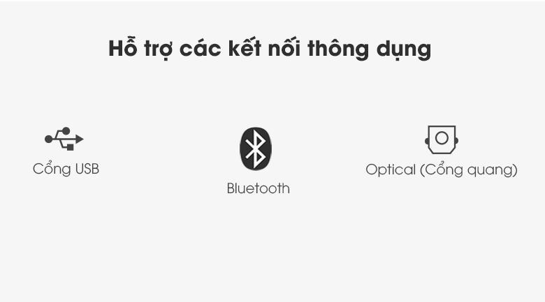 Thêm nhiều kết nối có dây tiện lợi - Loa thanh Samsung HW-A450