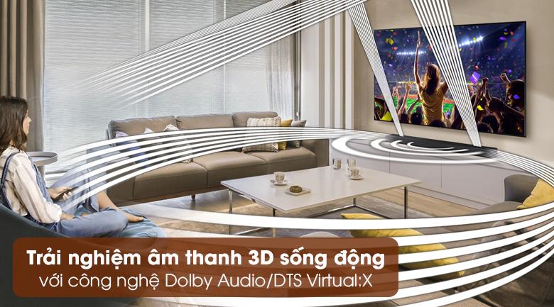 Loa thanh Samsung HW-A550 - Trải nghiệm âm thanh 3D sống động nhờ công nghệ Dolby Audio/DTS Virtual:X