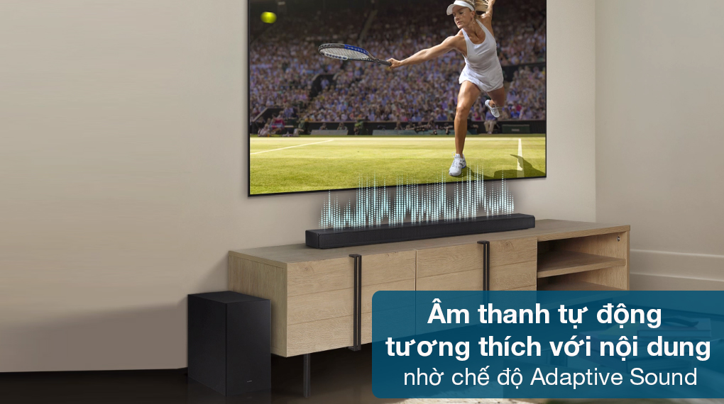 Loa thanh Samsung HW-Q630 - Chế độ Adaptive Sound