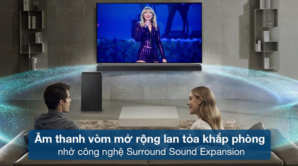 Loa thanh Samsung HW-Q630 - Tái tạo âm thanh vòm mở rộng sống động qua công nghệ Surround Sound Expansion