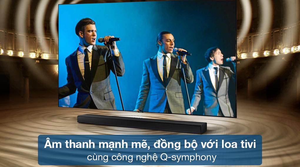 Loa thanh Samsung HW-Q630 - Kiến tạo không gian âm nhạc bùng nổ nhờ công nghệ Q-Symphony