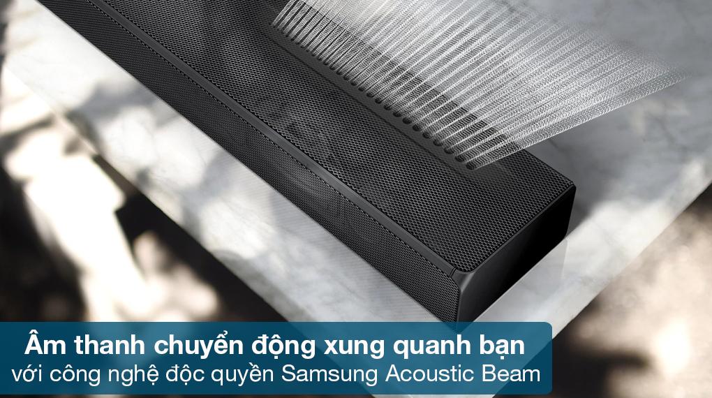 Loa thanh Samsung HW-Q630 - Thưởng thức chất âm tinh tế chuyển động quanh bạn nhờ công nghệ độc quyền Samsung Acoustic Beam