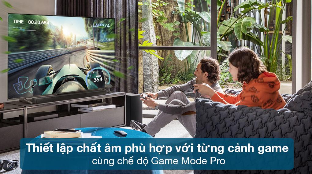 Loa thanh Samsung HW-Q630 - Thiết lập chất âm phù hợp với mỗi màn game qua chế độ Game Mode Pro
