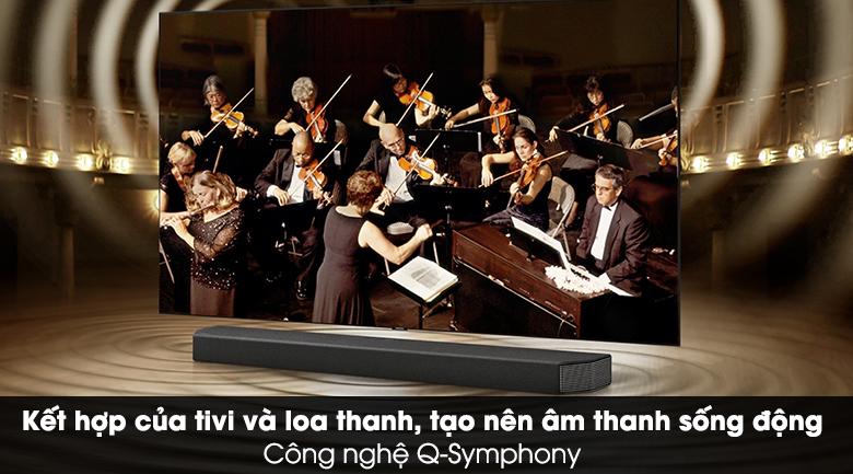 Loa thanh Samsung HW-Q950A - Kết hợp hoàn hảo giữa tivi và loa thông qua công nghệ Q-Symphony