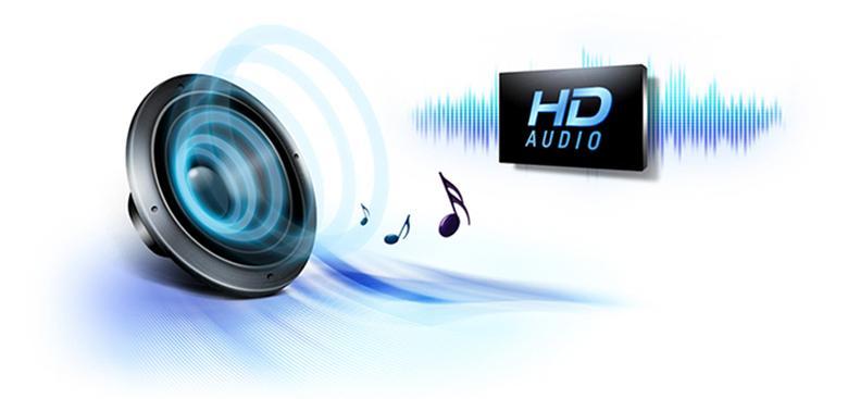 Âm thanh chuẩn HD sống động