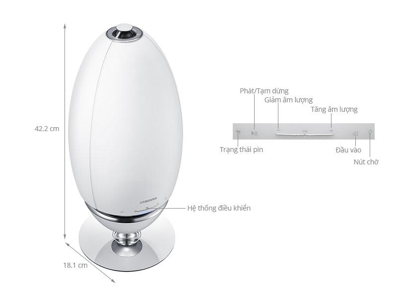 Thông số kỹ thuật Loa không dây Samsung 360 WAM7501