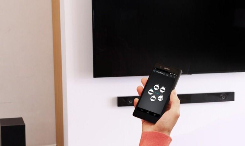 Điều khiển loa bằng chính chiếc điện thoại thông minh của bạn