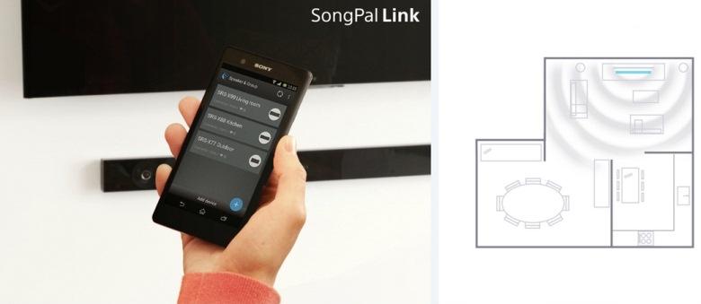 Điều khiển hệ thống loa bằng ứng dụng SongPal