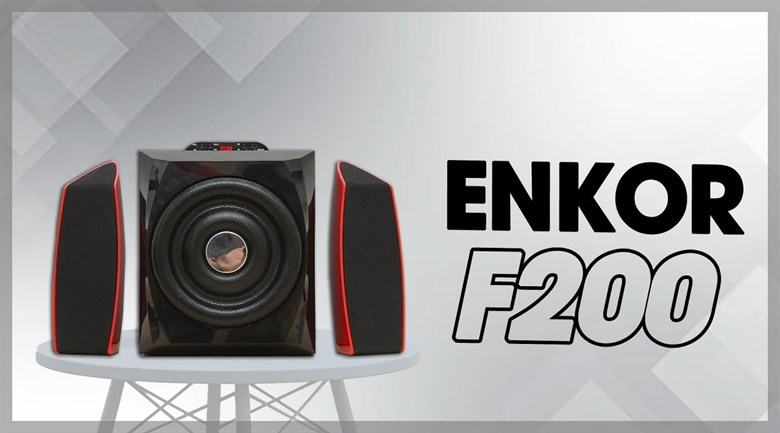 Loa vi tính Bluetooth Enkor F200