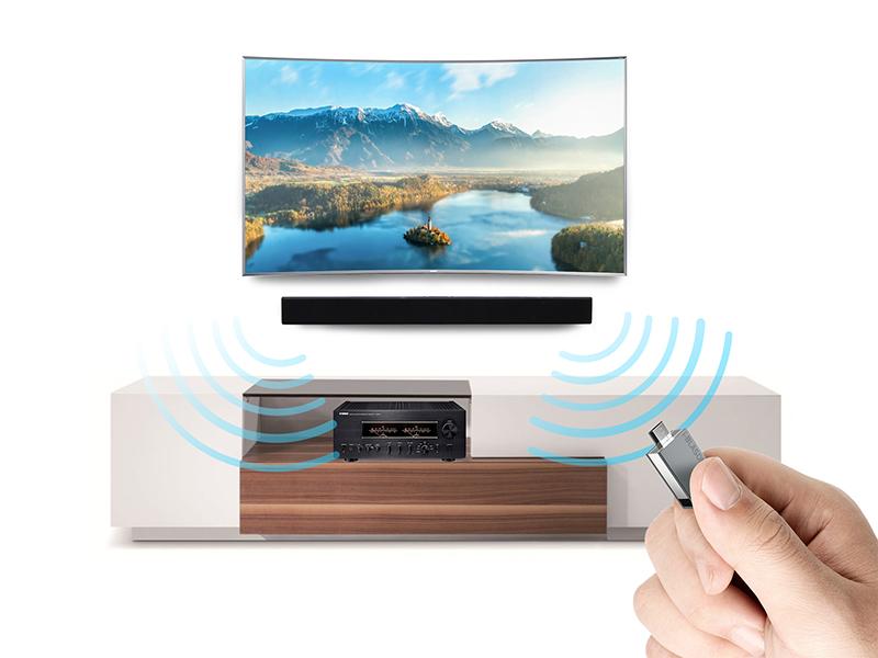 Loa Soundbar 2.2 Samsung HW-J250/XV - Nghe nhạc từ USB