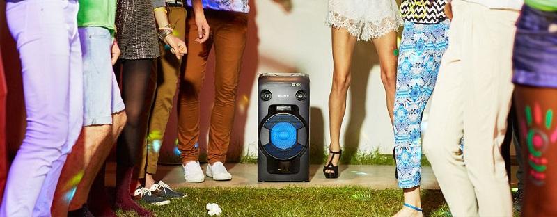Dàn âm thanh Hifi Sony MHC-V11 – Thiết kế dạng hộp