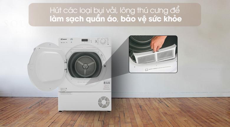 Làm sạch quần áo. bảo vệ sức khỏe