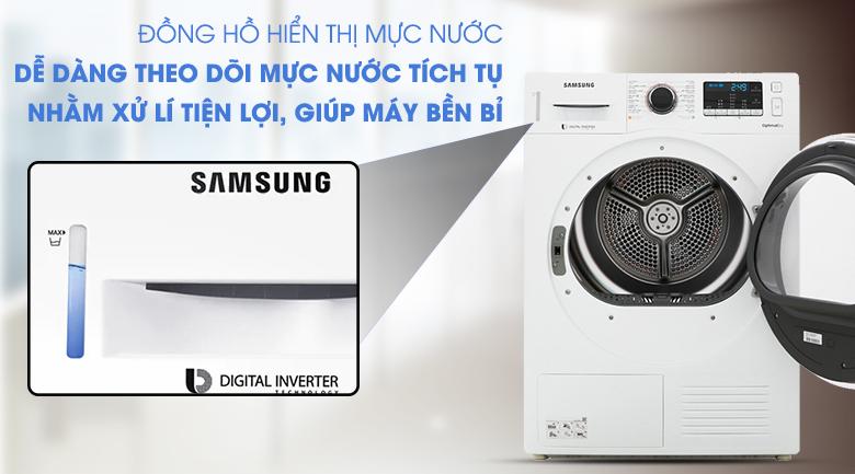 Đồng hồ hiển thị - Máy sấy Samsung 9 kg DV90M5200QW/SV