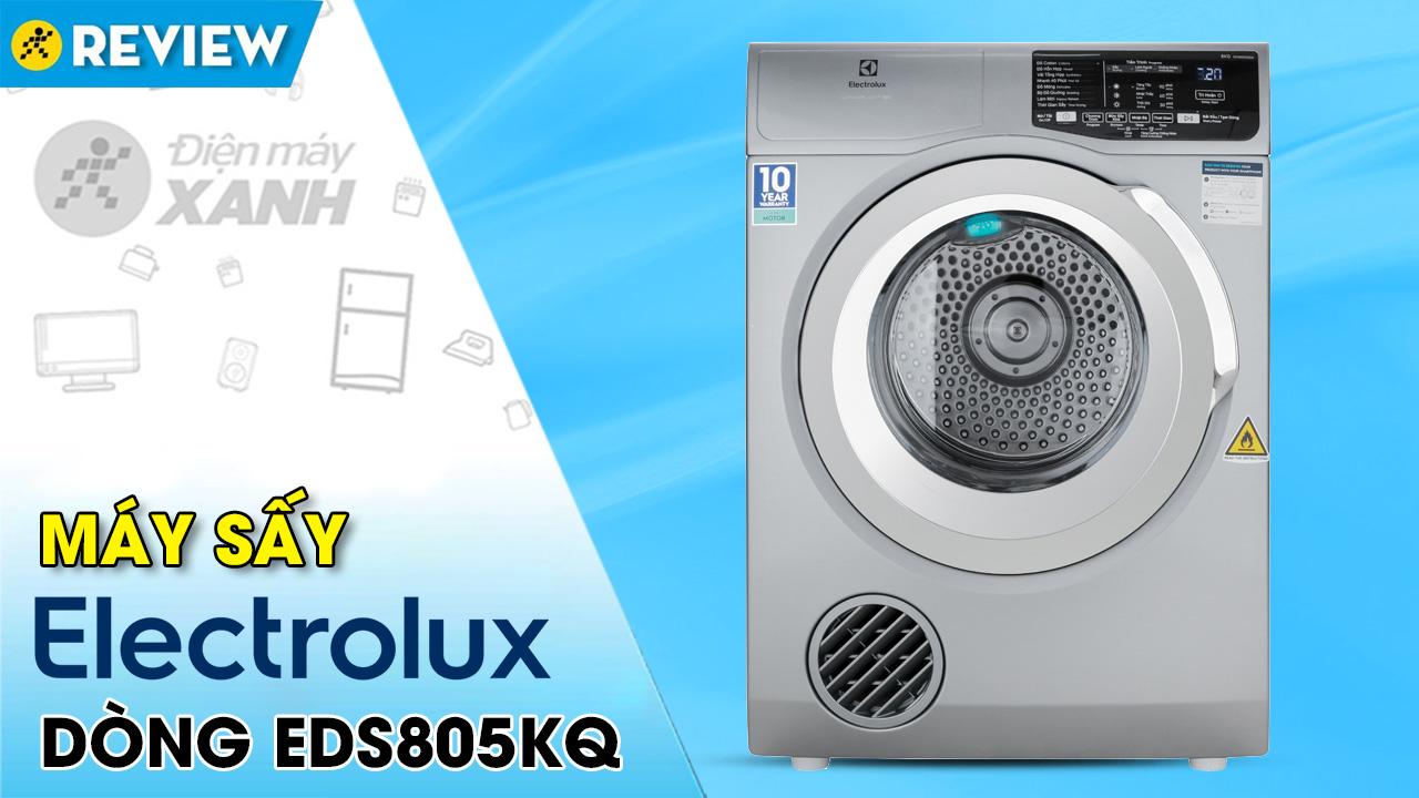 Máy sấy thông hơi Electrolux 8 Kg EDS805KQSA
