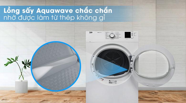 Công nghệ AquaWave - Máy sấy Beko 8kg DA8112RX0W