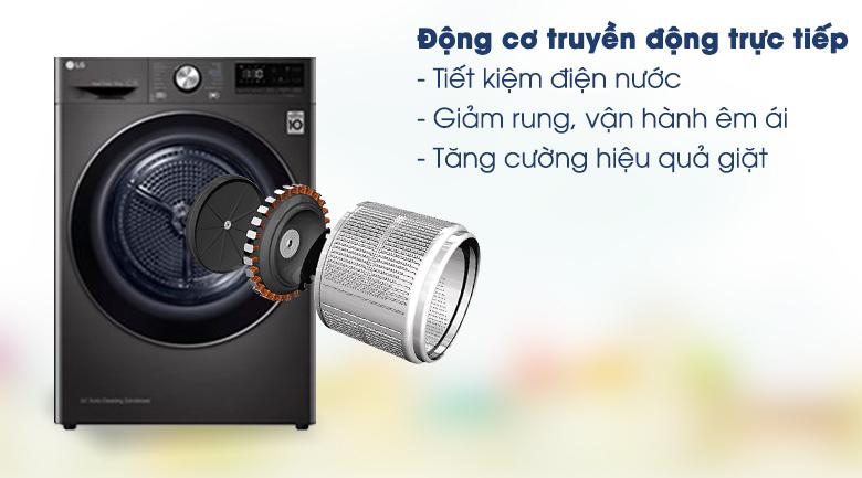 Máy sấy LG 9 Kg DVHP09B - Truyền động trực tiếp