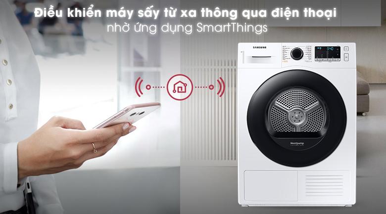 Máy sấy Samsung 9kg DV90TA240AE/SV - SmartThings