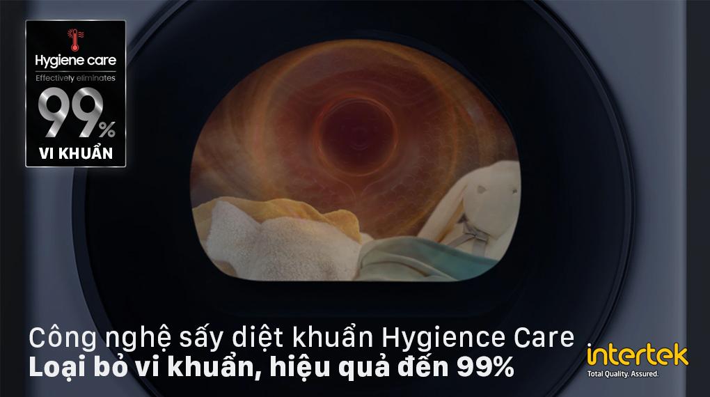 Máy sấy bơm nhiệt Samsung 9kg DV90T7240BH/SV - Hygience Care