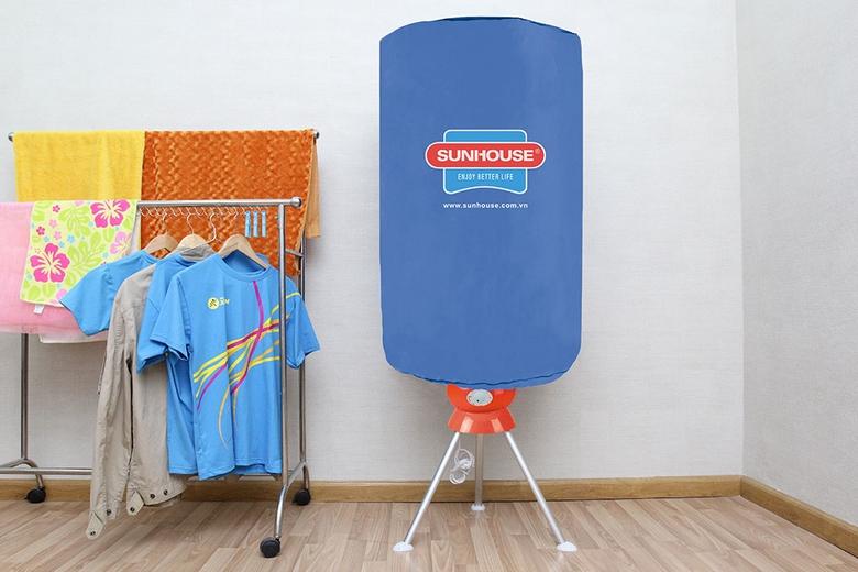 Thiết kế máy sấy quần áo gọn nhẹ