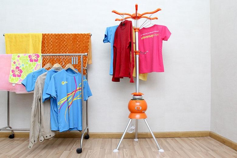 Có thể dùng để sấy khô hoặc làm giá treo quần áo tiện lợi
