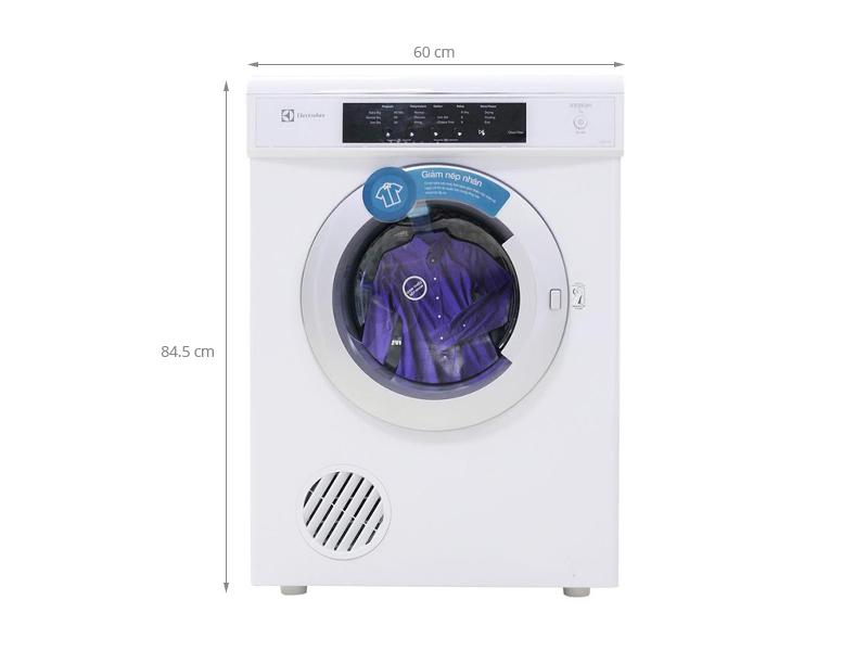 Thông số kỹ thuật Máy sấy quần áo Electrolux EDV7051 7 kg