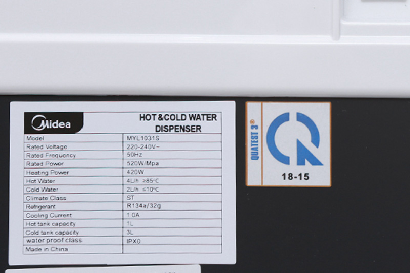 Cây nước nóng lạnh Midea MYL 1031S-2