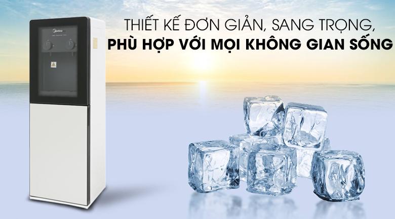 Thiết kế - Cây nước nóng lạnh Midea YD1518S-X