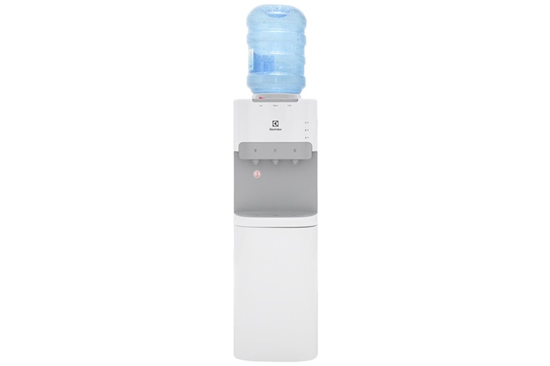 Màu trắng thanh nhã, kết cấu bền chắc - Cây nước nóng lạnh Electrolux EQACF01TXWV