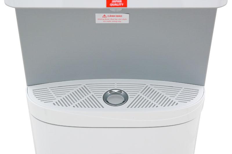 Khay hứng nước thừa hạn chế nước đổ ra xung quanh cây nước - Máy nước nóng lạnh Toshiba RWF-W1830BV(W)
