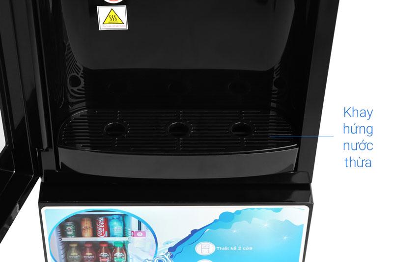 Khay hứng nước thừa ngăn nước đổ xung quanh - Cây nước nóng lạnh Midea YL1836S-B