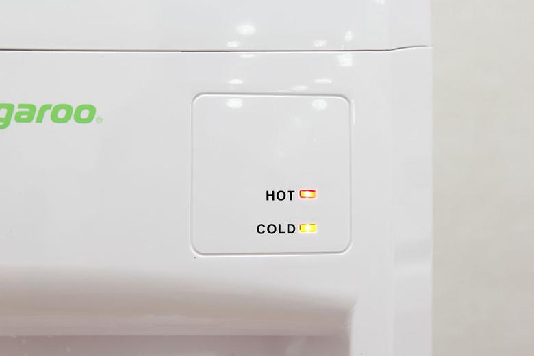 Đèn LED báo hiệu nước đang được làm nóng và lạnh