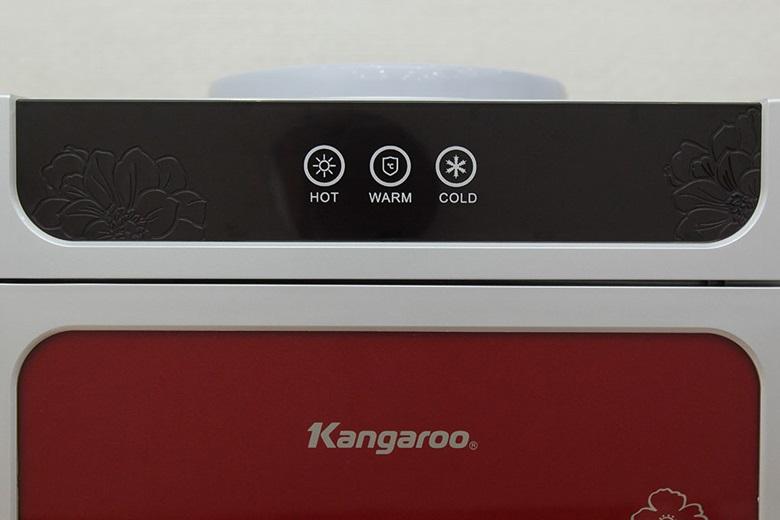 Máy có chức năng tạo nước nóng, nước ấm, nước lạnh cho bạn tùy chọn