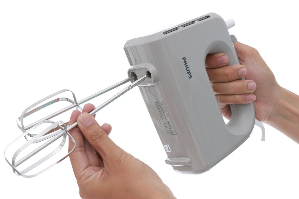 Lưỡi quay dễ tháo lắp - Máy đánh trứng Philips HR3705/20