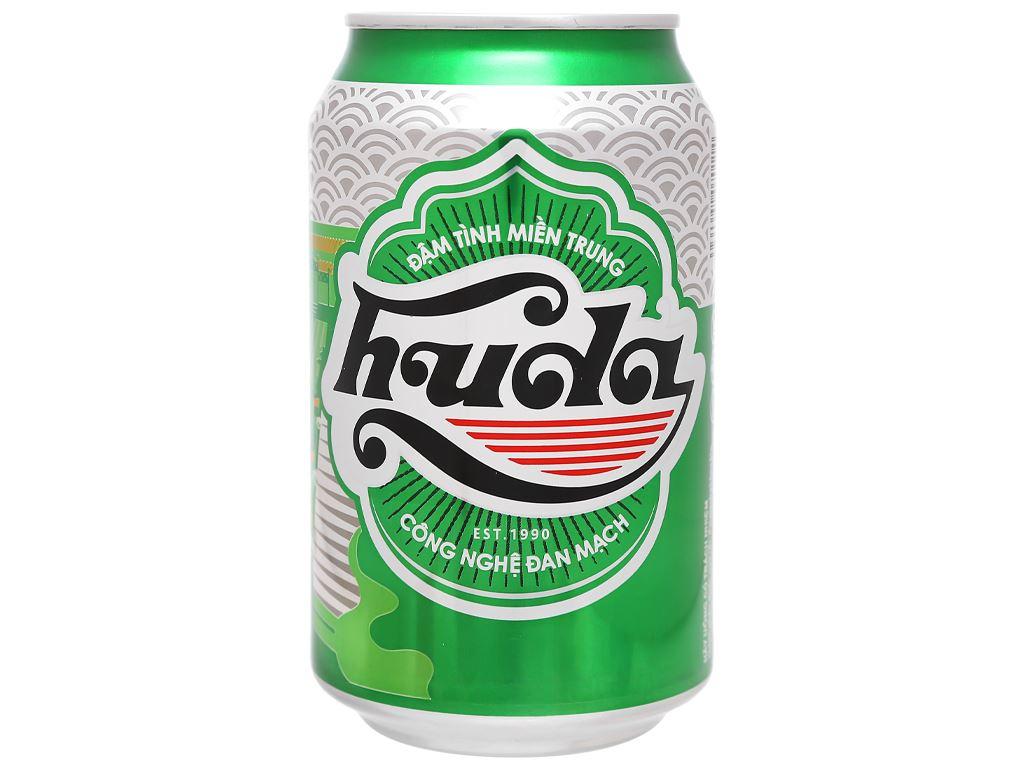 Thùng 24 lon bia Huda 330ml 2